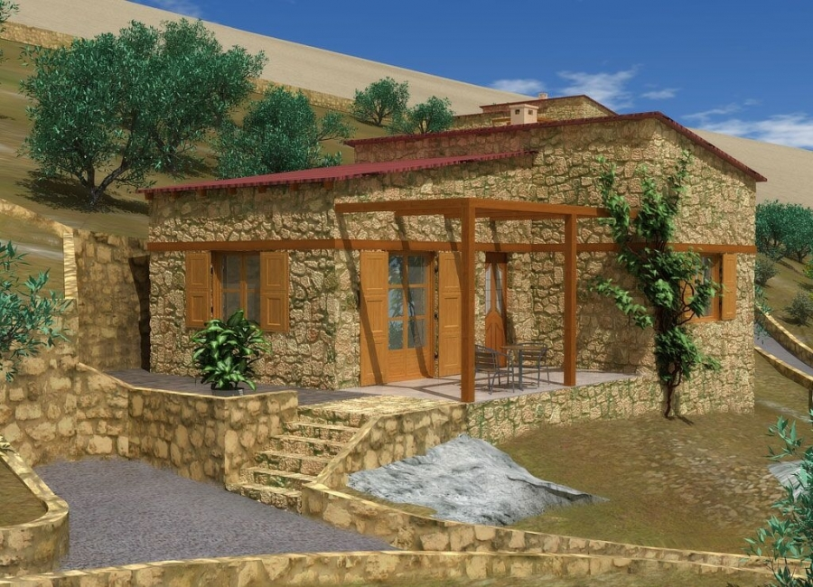 Detached house for sale in Prinos, Thassos