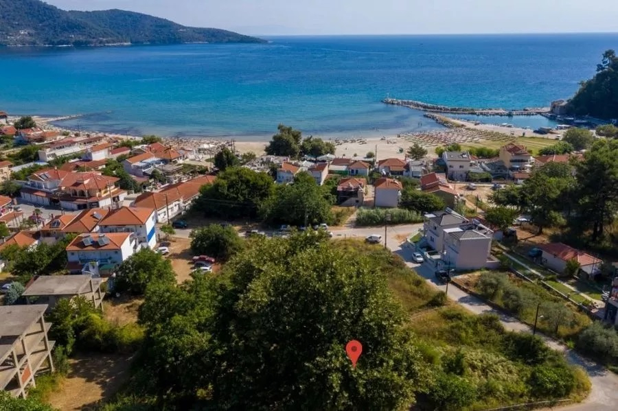 Plot for sale in Skala Potamia, Thassos