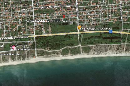 Οικόπεδο προς πώληση σε Σερραική Ακτή, Θεσσαλονίκη