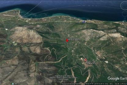 Земя за продажба в Рахони, Тасос