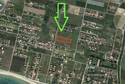Земя за продажба в Паралия Орфани, Кавала